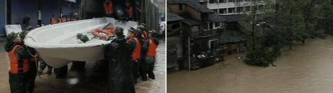 Woda na ulicach, tysiące osób ewakuowanych