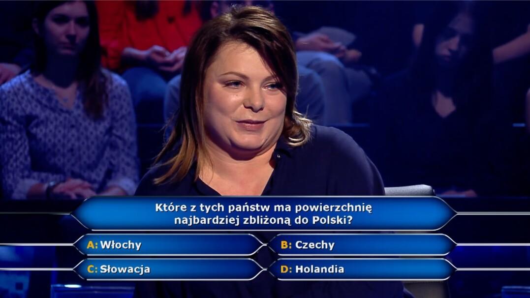Które państwo ma powierzchnię najbardziej zbliżoną do Polski? Pytanie za tysiąc złotych