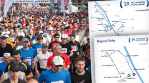 Maraton zmienia trasę przez remont w Śródmieściu