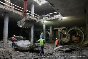 Rozbierają tunel metra pod rondem ONZ