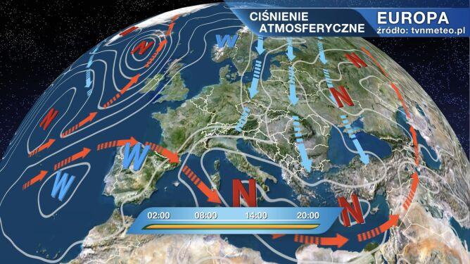 Napływa zimne arktyczne powietrze