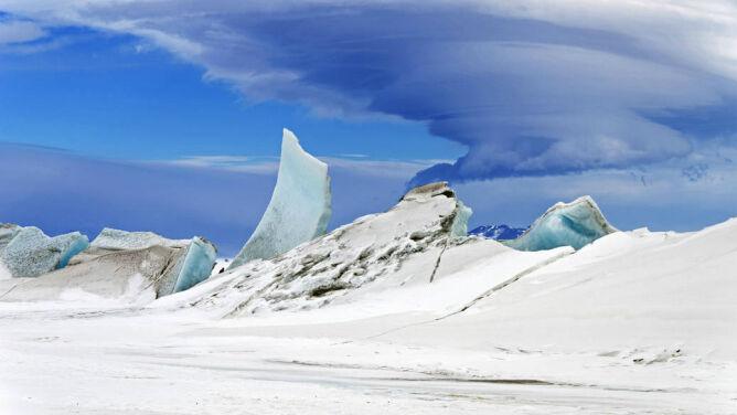 Lodu na Antarktydzie nie ubywa. <br />Przybywa go więcej, niż topnieje