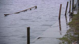 Wysoki poziom wody w rzekach i Bałtyku. Alarmy drugiego stopnia