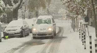 Opady śniegu i utrudnienia na drogach w Bułgarii