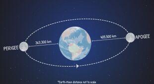 Animacja tłumacząca zjawisko Superksiężyca (NASA/JPL-Caltech)