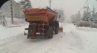 Śnieg zasypał południowo-wschodnią Polskę
