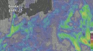 Potencjał burzowy w najbliższych dniach (ventusky.com)