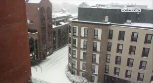 Śnieżyca w Wielkiej Brytanii okiem Reporterów 24